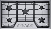 "36"" 5 Burner Gas Cooktop, SS"