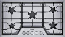 "36"" 5 Burner Gas Cooktop, SS"