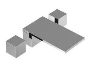 3-Hole Deck Mount Tub Filler - Black Product Image