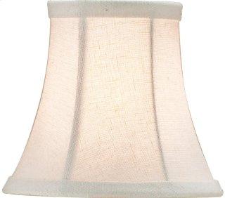 Bone Linen Shade, Small - 3 x 5 x 4.5