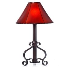 Forged Iron Table Lamp 003 (without shade)