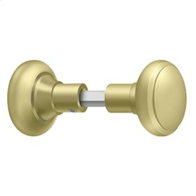 Accessory Knob Set for SDML334, Solid Brass - Polished Brass