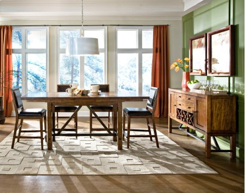 Dining - Santa Clara Trestle Gathering Table