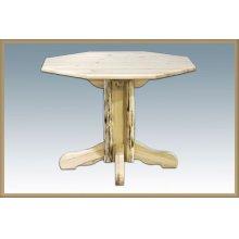 Montana Log Pedestal Table