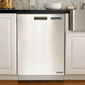 "Floor Model - Distinctive 24"" Dishwasher, Stainless Steel"