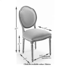 Louis Xvi Round Side Chair Frame