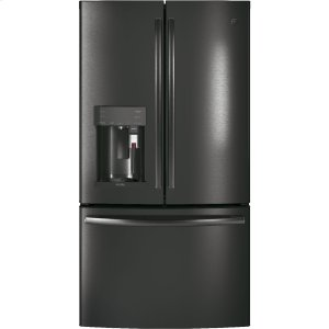 GE ProfileGE PROFILEGE Profile™ Series ENERGY STAR® 22.2 Cu. Ft. Counter-Depth French-Door Refrigerator with Keurig® K-Cup® Brewing System