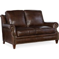 Bradington Young Roe Stationary Loveseat 8-Way Tie 611-75 Product Image