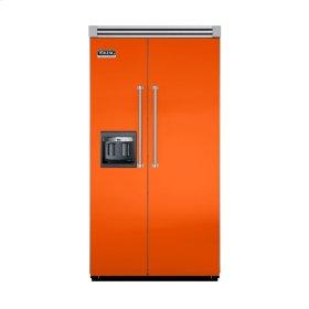 "Pumpkin 42"" Side-by-Side Refrigerator/Freezer with Dispenser - VISB (Integrated Installation)"