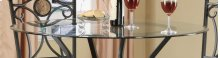 Counter Ht Glass Top