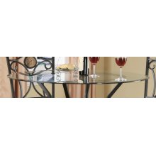 """42"""" Round Counter-height Glass Table Top"""