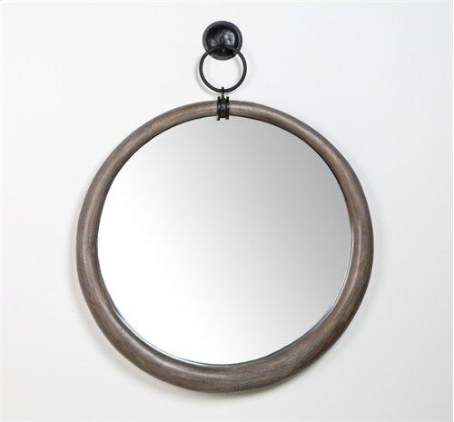 Carillo Mirror - Grey