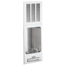 Elkay Cooler Wall Mount Full Recessed ADA Non-Filtered, 8 GPH Stainless