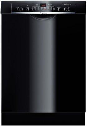 """24"""" Recessed Handle Dishwasher Ascenta- Black"""