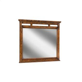 Bedroom - Wolf Creek Landscape Mirror