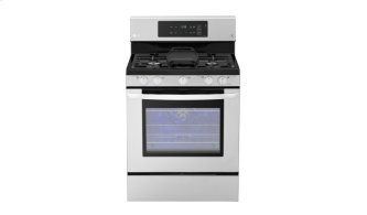 5.4 Cu. Ft. Capacity Gas Single Oven Range With Evenjet Fan Convection and Easyclean(R)