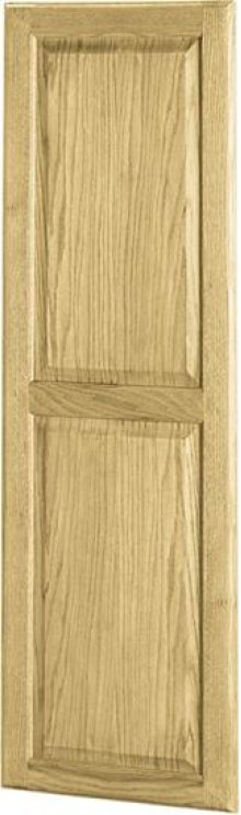 Custom Door for Ironing Centers, with Oak Raised Panel