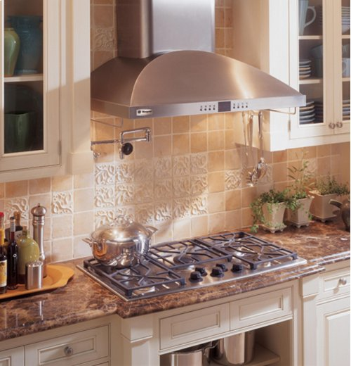 "GE Monogram® 36"" Wall-Mounted Vent Hood"