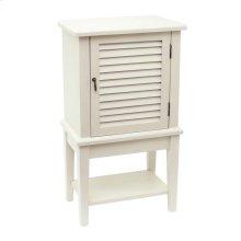 Hyannis White 1 Shutter Door Cabinet