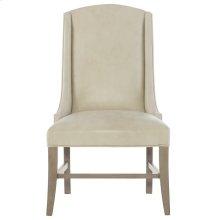 Slope Leather Arm Chair in Smoke