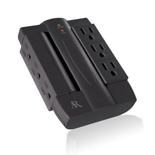 6-outlet Swivel Surge Protector