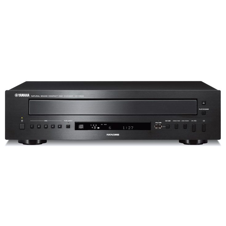 CD-C600 Black Five-disc CD Changer