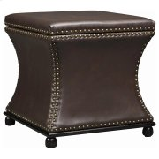 Seward Storage Stool In Brown Product Image