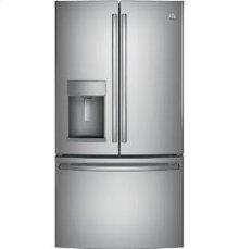GE® ENERGY STAR® 25.7 Cu. Ft. French-Door Ice & Water Refrigerator