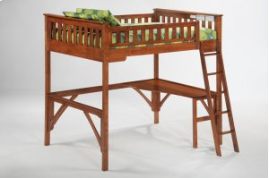 Ginger Loft Bunk in Cherry Finish*