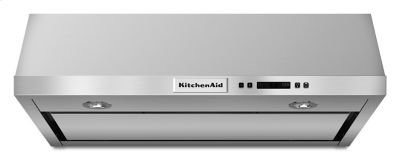 30'' Under-the-Cabinet, 4-Speed System - Stainless Steel Product Image