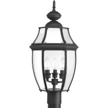 New Haven Collection Three-Light Post Lantern