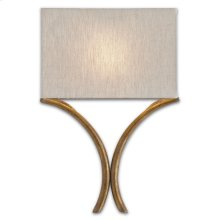 Cornwall Gold Wall Sconce