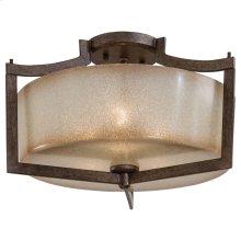 Clarté - 3 Light Semi Flush