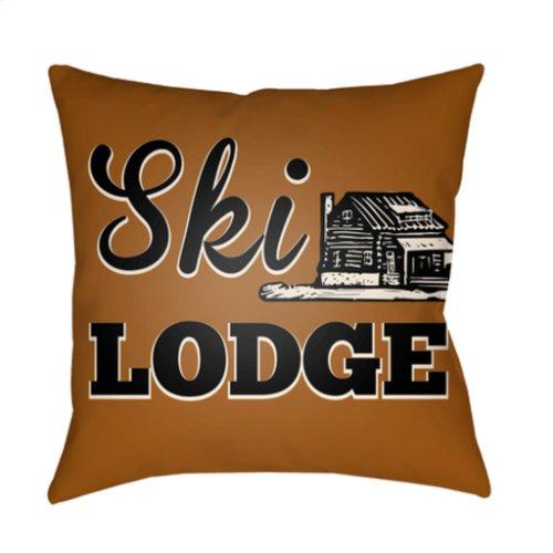 "Lodge Cabin LGCB-2036 18"" x 18"""