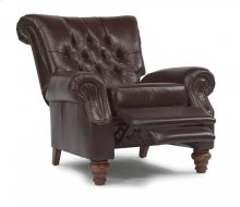Equestrian Leather High-leg Recliner