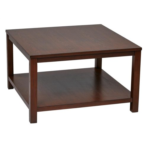 "Merge 30"" Square Coffee Table"