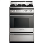 "Fisher & PaykelGas Range, 24"", 4 Burners"