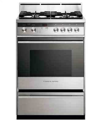 "Gas Range, 24"", 4 Burners"