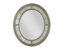 Rococo Oval Mirror