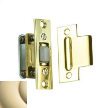 Lifetime Polished Brass Roller Latch