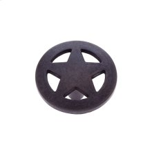 "Oil Rubbed Bronze 1-1/2"" Medium Star Knob"