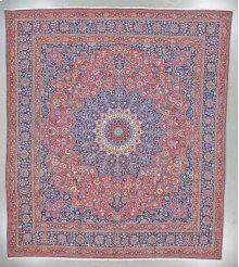 """PERSIAN 000051331 IN RED BLUE 12'-10"""" x 14'-5"""""""