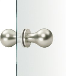 Aluminum Fixed Knobs for Glass Door