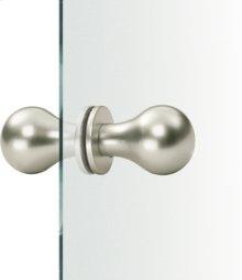 Aluminum Fixed Knobs for Glass Door