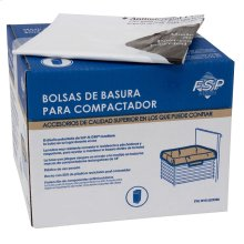 "60 Pack-Plastic Compactor Bags-18"" Models"
