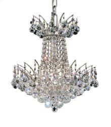 8031 Victoria Collection Hanging Fixture Chrome Finish
