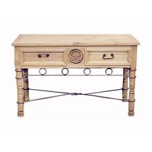 Star Sofa Table W/drawers