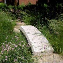 Granite Garden Bridges 10' L / Black and White Granite
