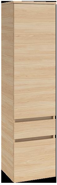 Tall cabinet - Oak Graphite