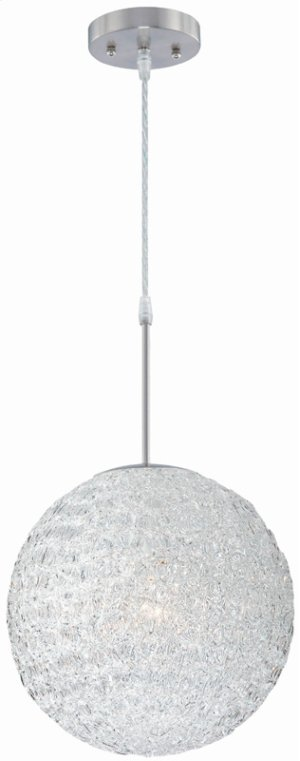 Pendant Lamp, Ps/clear Acrylic Shade, E27 Type A 60w